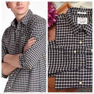 Lucky brand classic fit plaid button down shirt